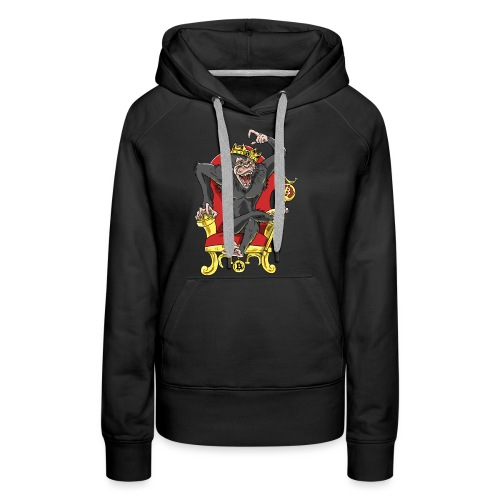 Bitcoin Monkey King - Beta Edition - Frauen Premium Hoodie