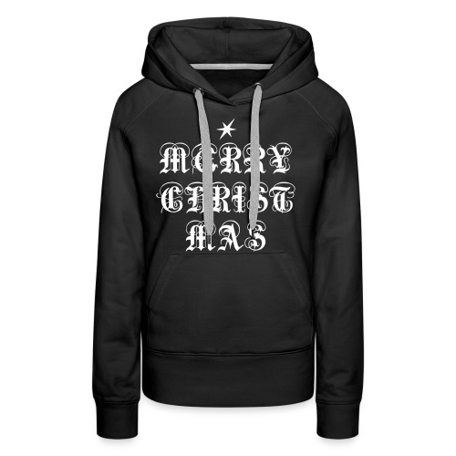 Merry Christmas X-mas - Frauen Premium Hoodie