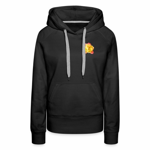 yellow rose - Women's Premium Hoodie