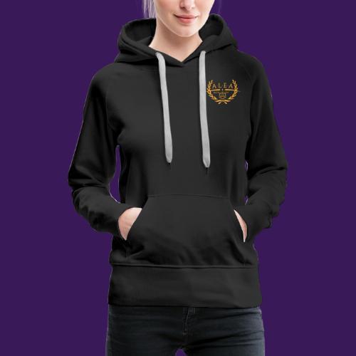 ALEA Logo Gold - Frauen Premium Hoodie