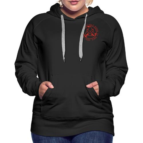 Kampfschule Ronin rot - Frauen Premium Hoodie