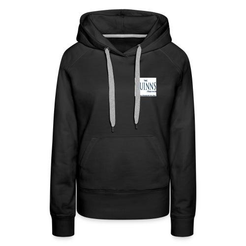 Motiv T Shirt Rücken jpg - Frauen Premium Hoodie