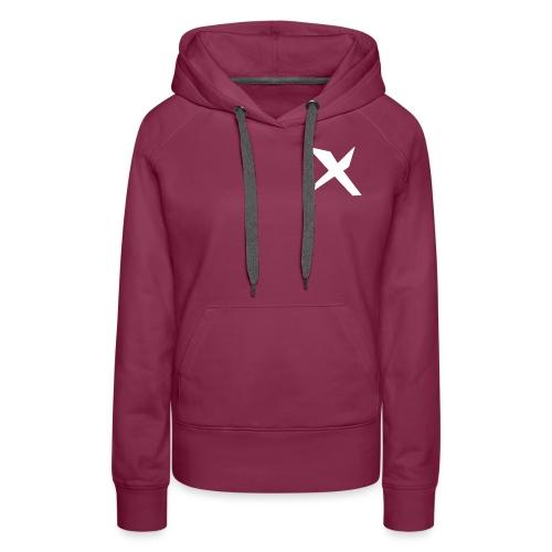 X-v02 - Sudadera con capucha premium para mujer