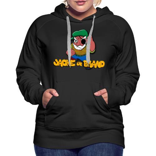 Jacke in Brand - Frauen Premium Hoodie