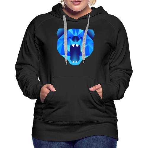 Polygon Bär - Frauen Premium Hoodie