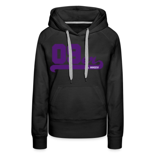 09er strich copy estab - Frauen Premium Hoodie