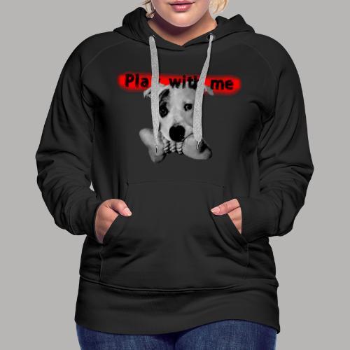 Nice Dog - Sweat-shirt à capuche Premium pour femmes