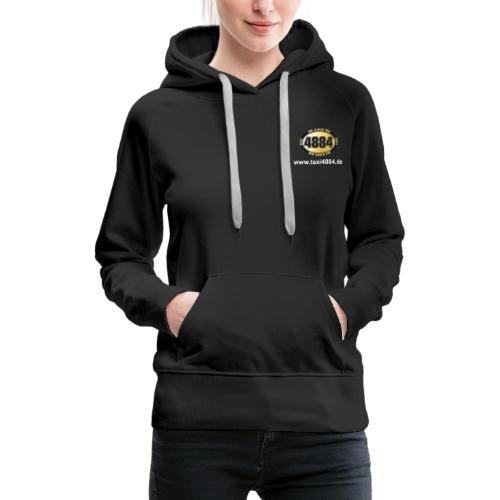 Logo vorn und hinten hell - Frauen Premium Hoodie