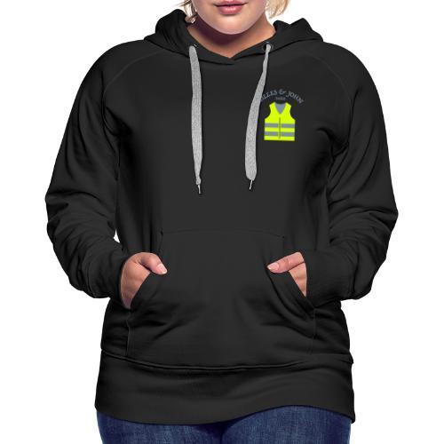 Gilles & John - Paris - Sweat-shirt à capuche Premium pour femmes