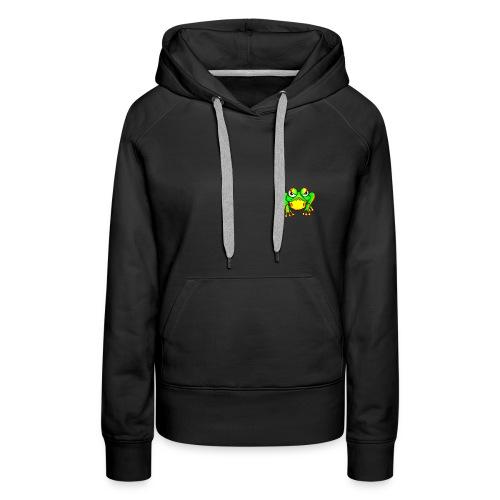 Angry Frog - Sweat-shirt à capuche Premium pour femmes