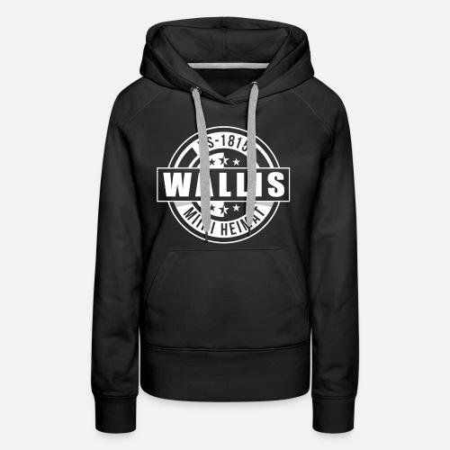 WALLIS - MIINI HEIMAT - Frauen Premium Hoodie