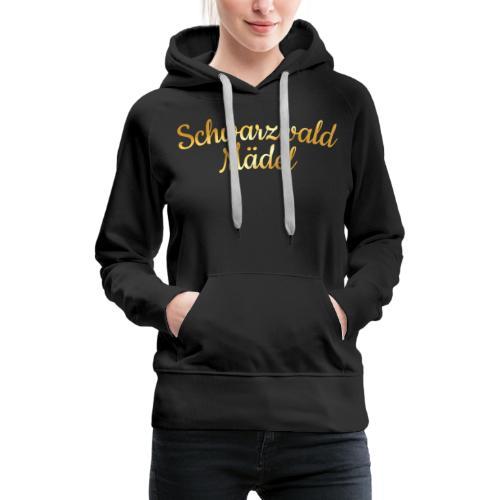 Schwarzwald Mädel (Goldgelb) - Frauen Premium Hoodie