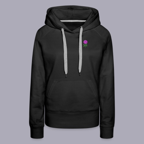 Landryn Design - Pink rose - Women's Premium Hoodie