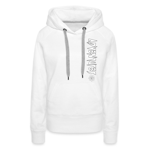Jebus Adventures Vertical Stripe - Women's Premium Hoodie