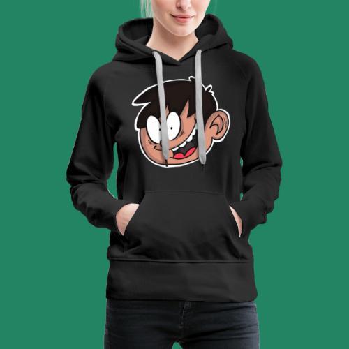 Comic Head - Sweat-shirt à capuche Premium pour femmes