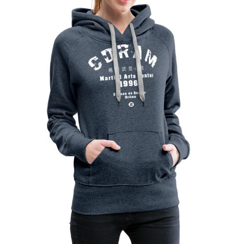 CDRAM OLD SCHOOL - Sweat-shirt à capuche Premium pour femmes