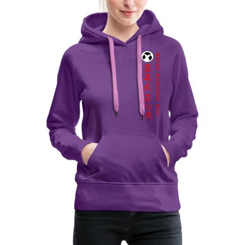 REIKI KOKORO RYU - Sweat-shirt à capuche Premium pour femmes