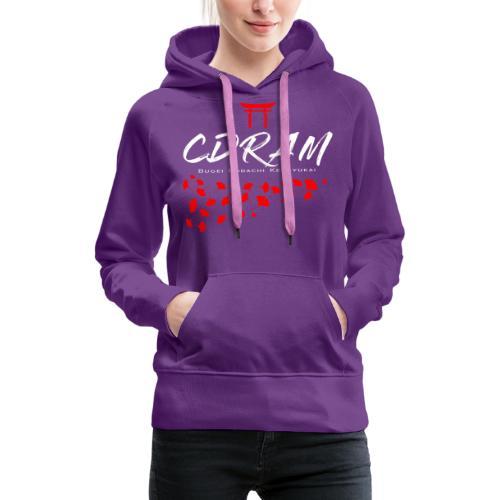 CDRAM Ginko - Sweat-shirt à capuche Premium pour femmes