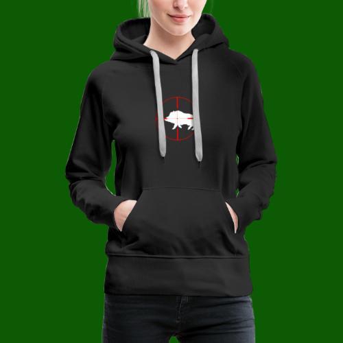 Boar Shooter - Premiumluvtröja dam