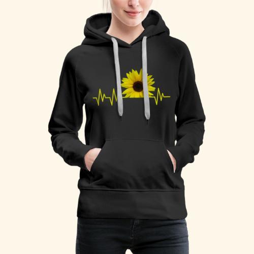 sunflowerbeat - zauberhafte Sonnenblume - Frauen Premium Hoodie