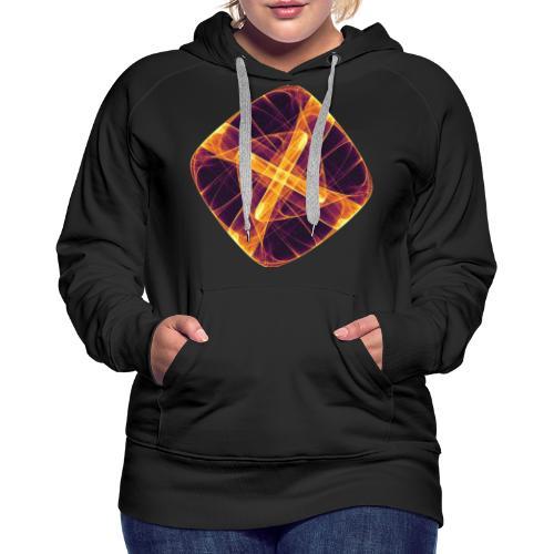 Chakra Mandala Mantra OM Chaos Stern Kreis 12255i - Frauen Premium Hoodie
