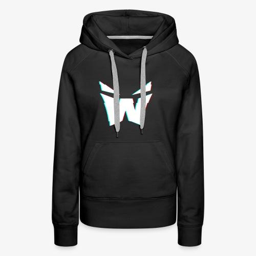 MAN'S VORTEX DESIGN - Women's Premium Hoodie