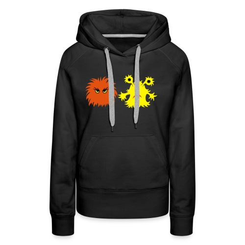 monster friends - Frauen Premium Hoodie