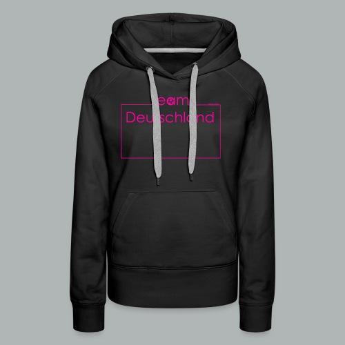 Team Deutschland pink - Frauen Premium Hoodie