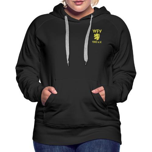 WFV Schwarz-Gelb Logo - Frauen Premium Hoodie