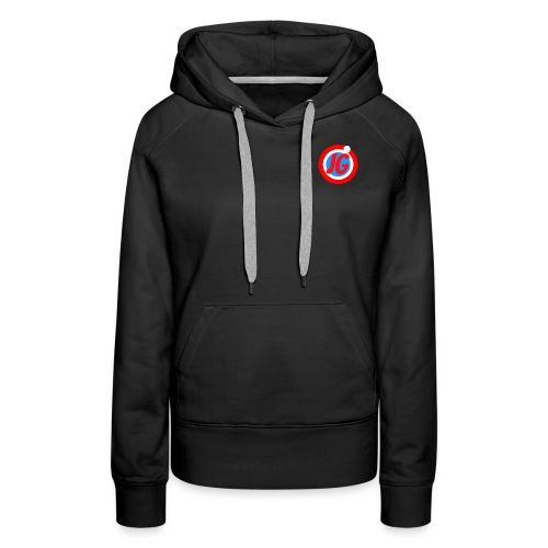 TEAM JG Logo top - Women's Premium Hoodie