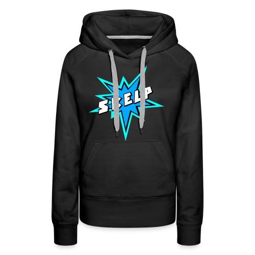 Skelp - BLUE - Women's Premium Hoodie