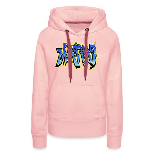 Graffiti Mathis - Sweat-shirt à capuche Premium pour femmes