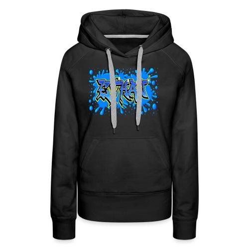 Graffiti ETHAN - Sweat-shirt à capuche Premium pour femmes