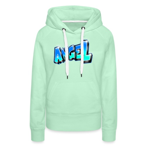 Angel Graffiti name printable - Sweat-shirt à capuche Premium pour femmes
