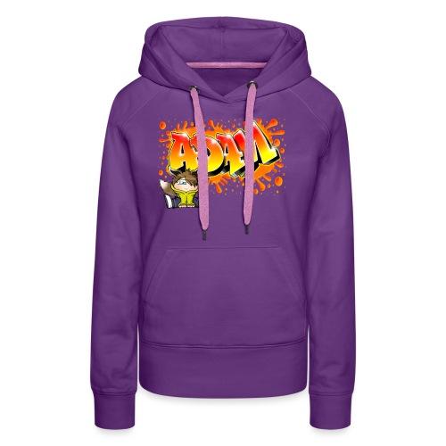 Graffiti Adam Splash - Sweat-shirt à capuche Premium pour femmes