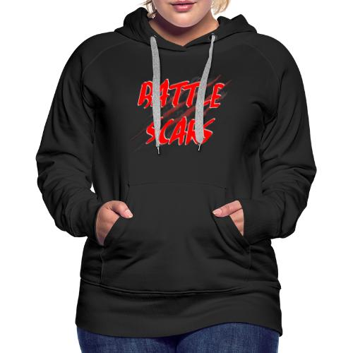 Battle Scars Merchandise - Women's Premium Hoodie