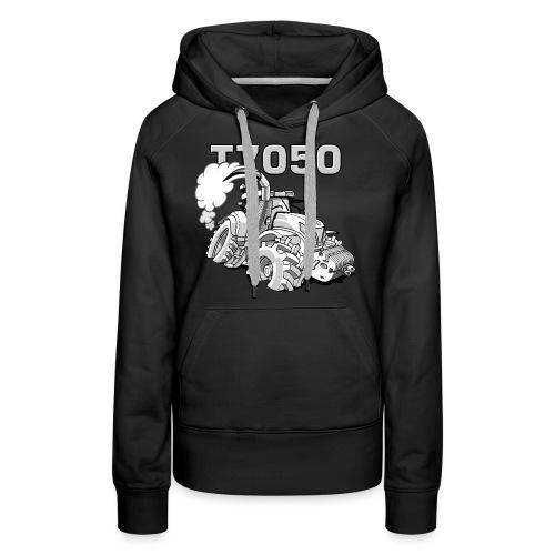 0846 NH T7050 gray - Vrouwen Premium hoodie