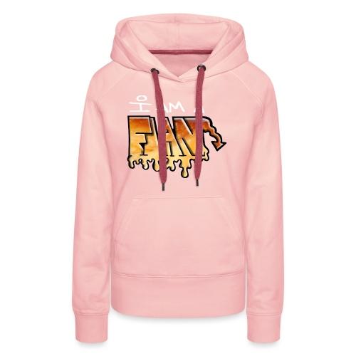 I Am a Flan - Sweat-shirt à capuche Premium pour femmes