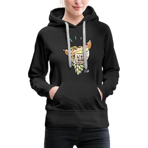 Stef 0005 00 tropical bratwurst - Frauen Premium Hoodie
