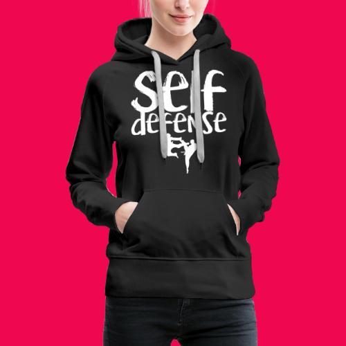 Self Defense 1.0 - Frauen Premium Hoodie
