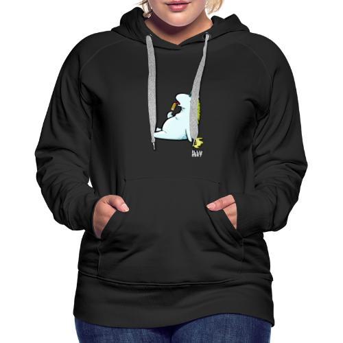 STE 0006 00 Eis Einhorn - Frauen Premium Hoodie