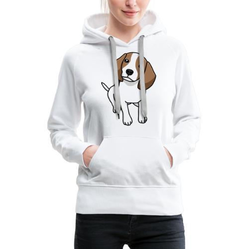 Beagle, Hund, Hunderasse, Comic, Geschenkidee - Frauen Premium Hoodie