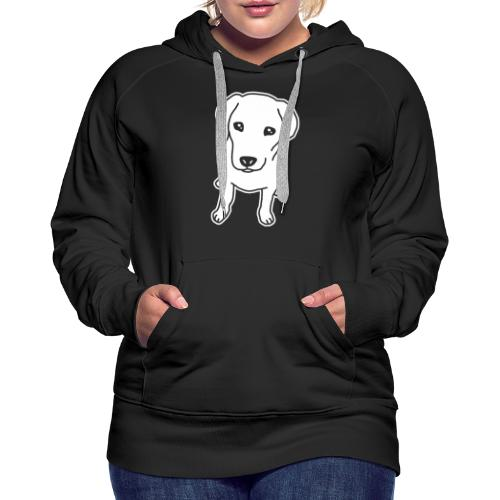 Labrador Retriever, Hund, Comic - Frauen Premium Hoodie