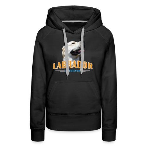 Labrador Tonko stolz - Frauen Premium Hoodie