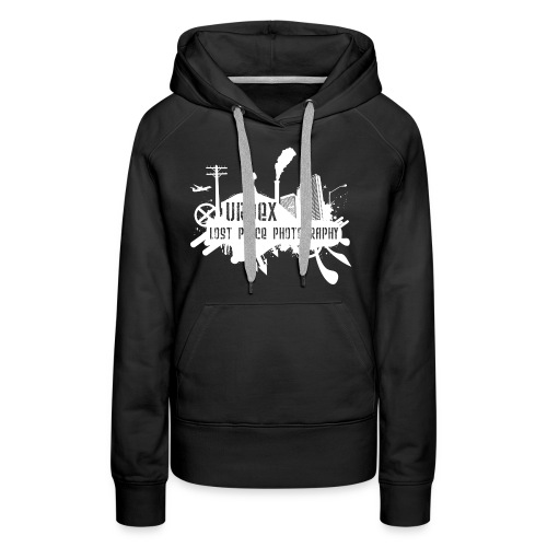 Lost Place Photography White - Frauen Premium Hoodie