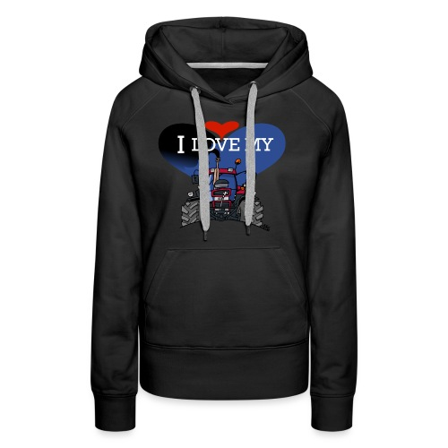 0841 0505 I love my IH - Vrouwen Premium hoodie