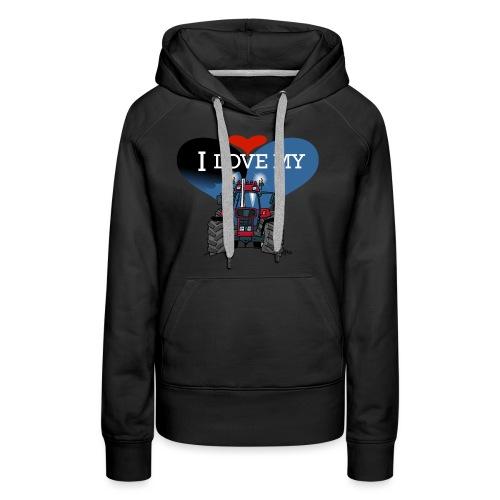 0841 0340 I love my IH - Vrouwen Premium hoodie