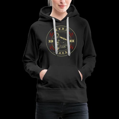 received 319184385468624 bicubic - Sweat-shirt à capuche Premium pour femmes