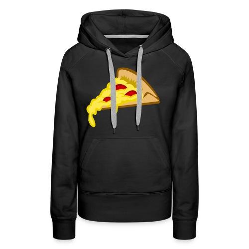 If it fits my macros Pizza - Vrouwen Premium hoodie