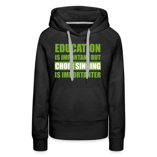educationw - Frauen Premium Hoodie
